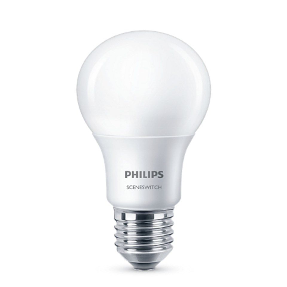 Philips Sceneswitch LED-pære E27 806 lm