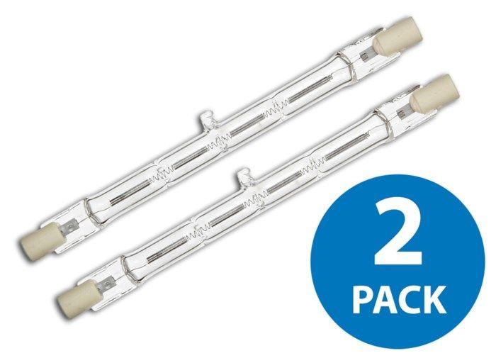 Halogenrörlampa R7s 118 mm 2-pack 8550 lm, 400 W