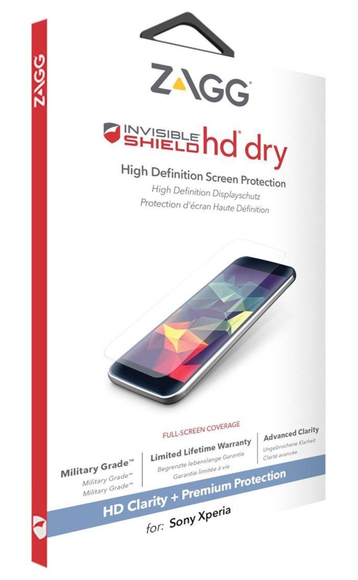 Invisible Shield HD Dry Skärmskydd för Xperia X Compact