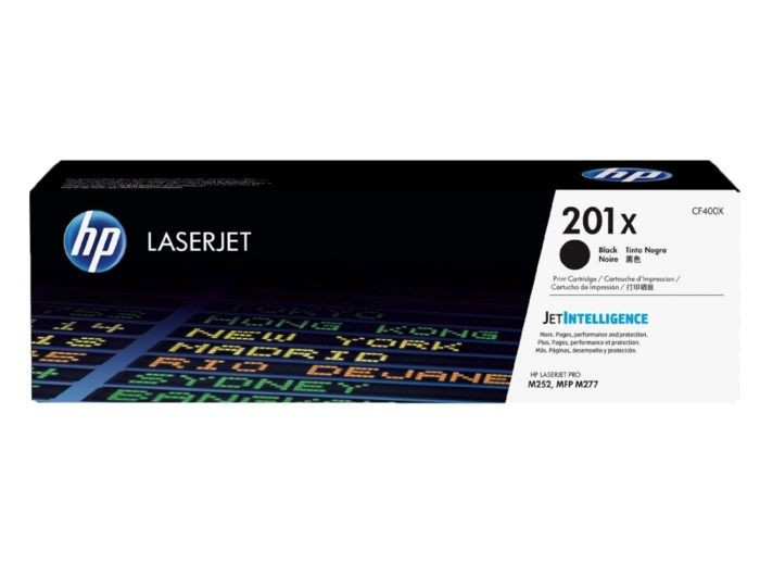 HP Toner 201X Svart