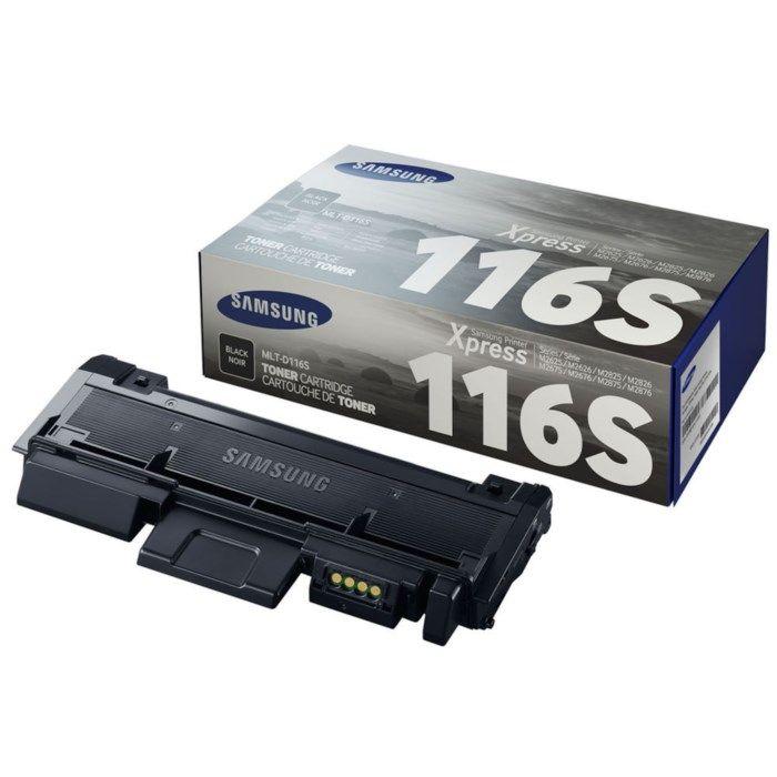 Samsung Toner D116S Svart