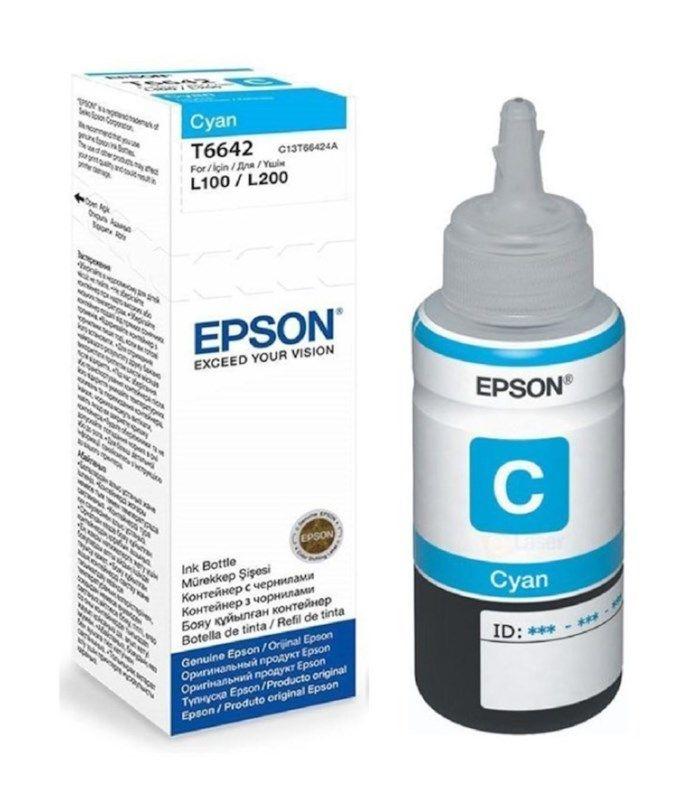 Epson T6642 Bläckpatron Cyan