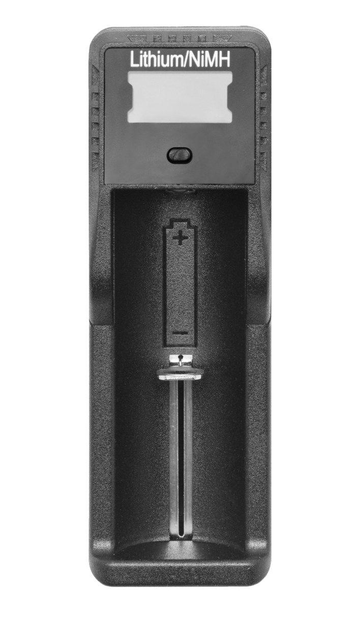 Batteriladdare för 18650 litiumbatterier