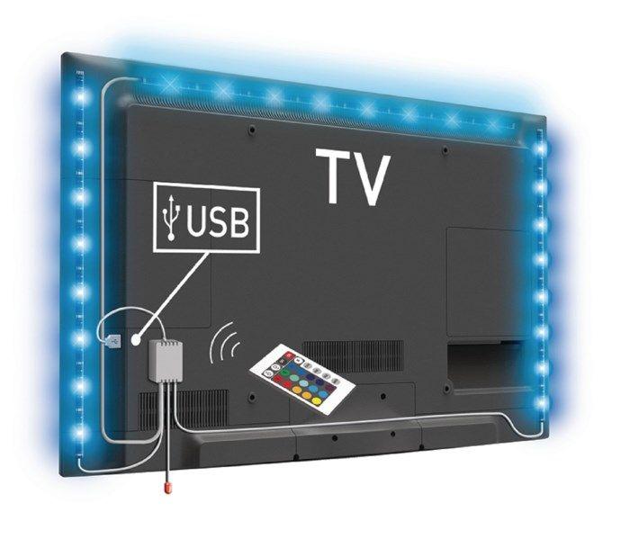 Ledsavers LED-list för TV RGB 3-pack