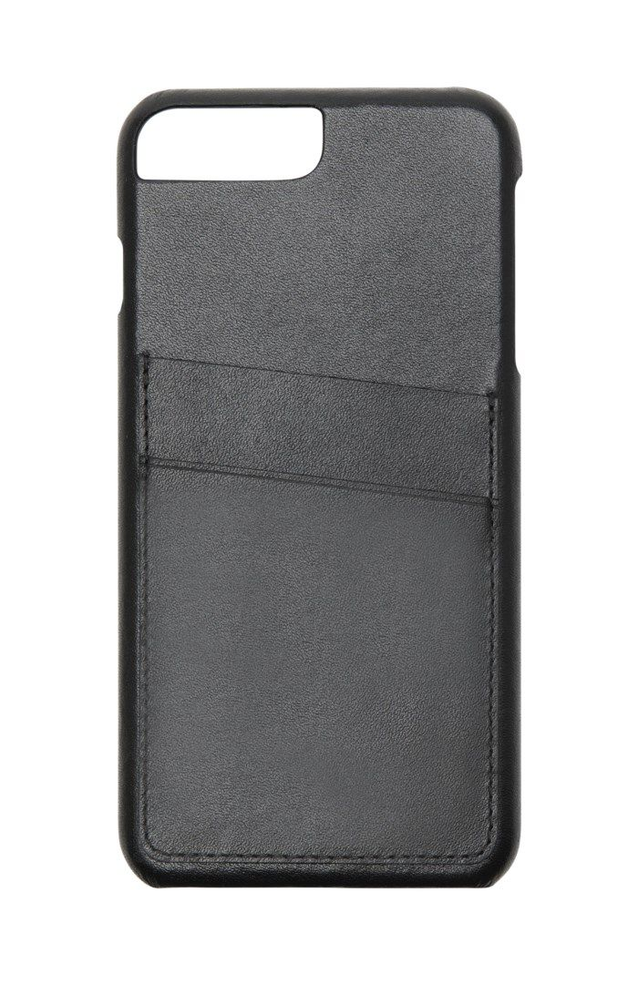 Linocell Leather wallet case Plånboksskal för iPhone 6, 7 och 8 Plus-serien