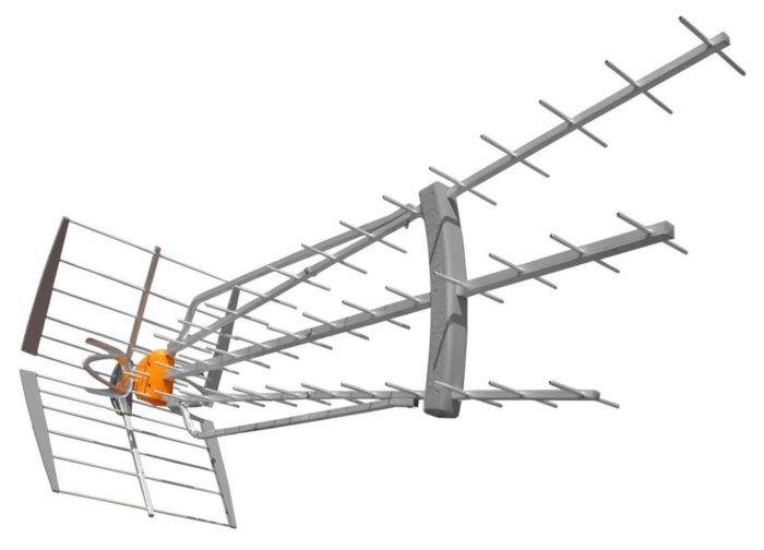 Televes Dat-Boss LR TV-antenn UHF