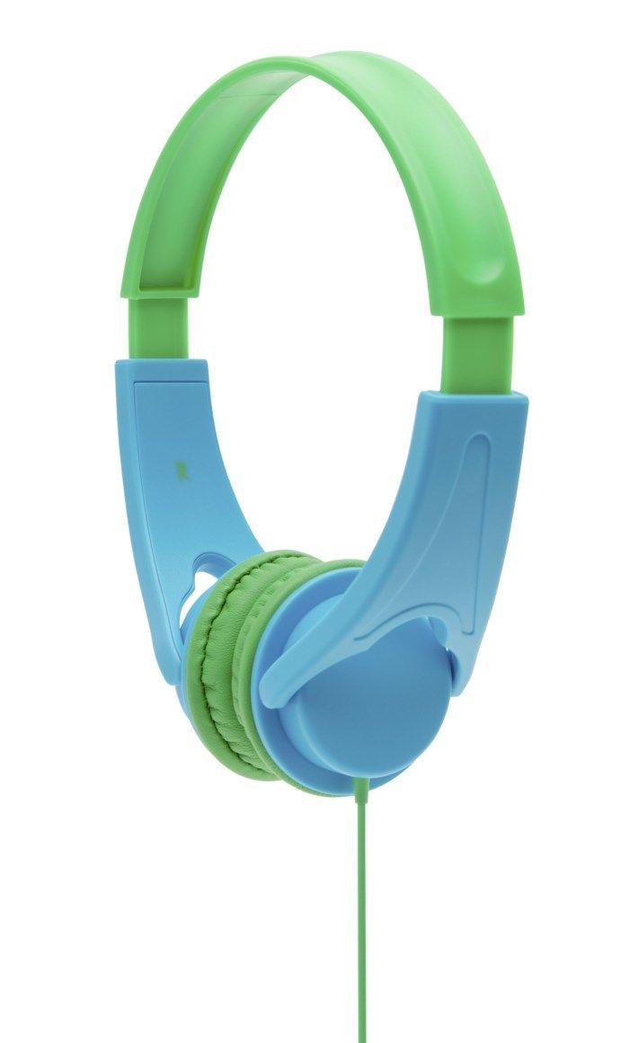 Roxcore Hörlurar med volymbegränsning Blå