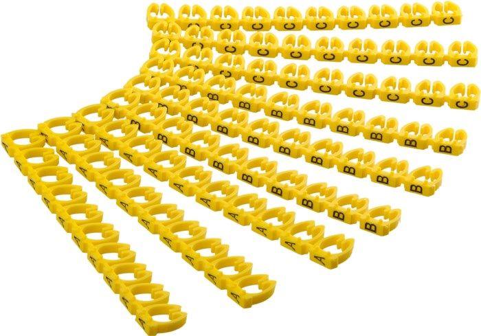 Kabelmärkning (A-C) 90-pack