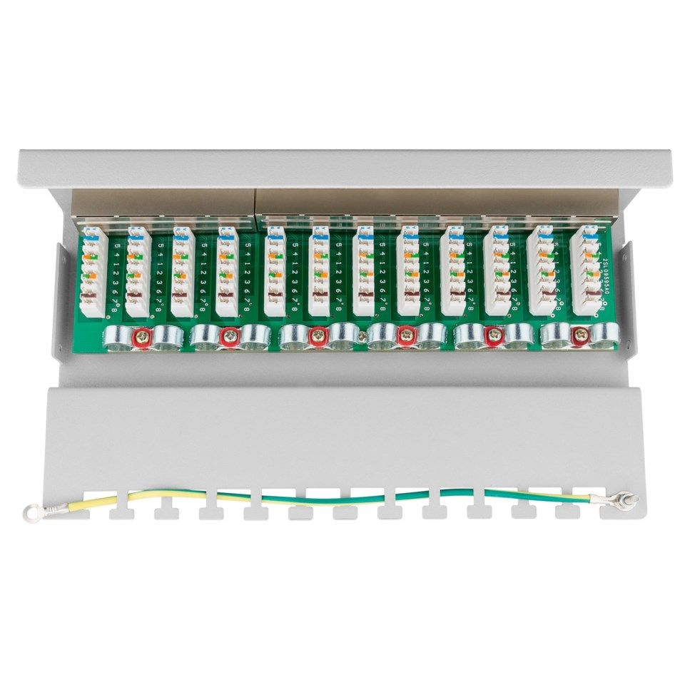 Patchpanel 12 porter Cat. 6