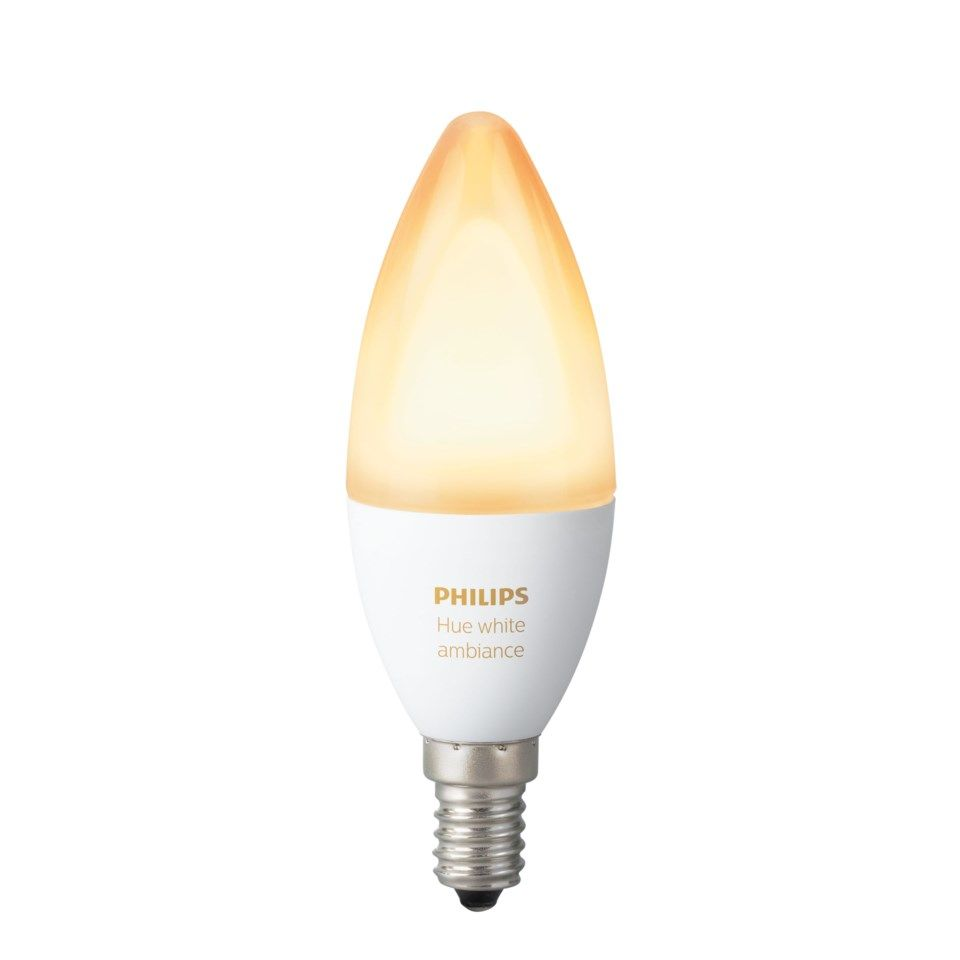 Philips Hue Ambiance Smart LED-pære E14 470 lm 1-pk.
