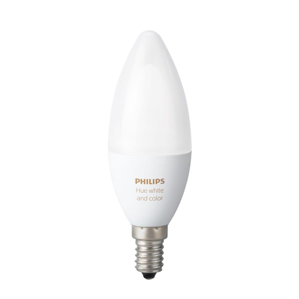 Philips Hue Smart LED-lampa RGB E14 470 lm 1-pack