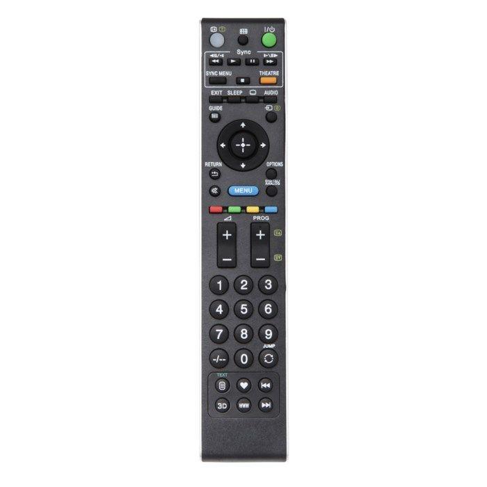 Luxorparts Fjärrkontroll för Sony-TV