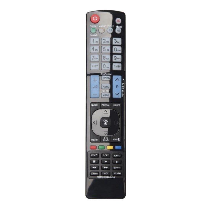 Luxorparts Fjärrkontroll för LG-TV