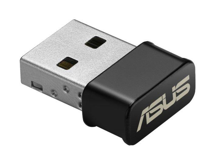 Asus USB-AC53 Nano Trådlöst USB-nätverkskort 867 Mb/s