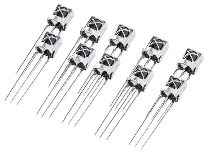 Luxorparts IR-mottagare 38 kHz 10-pack