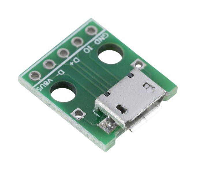 Luxorparts Micro-USB-hona anslutningskort