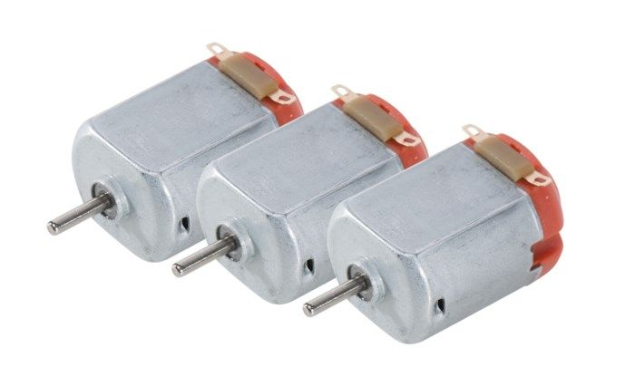 Luxorparts DC-motor 1,5-3 V 3-pack