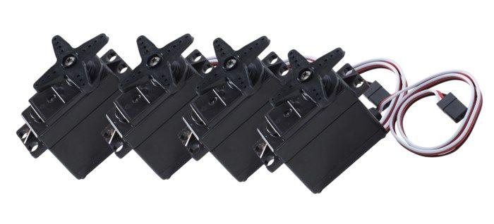 Luxorparts S3003 standard-servo 41 kg 4-pack