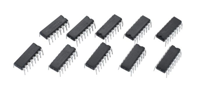 Luxorparts Shiftregister 8-bit 74HC595 10-pack