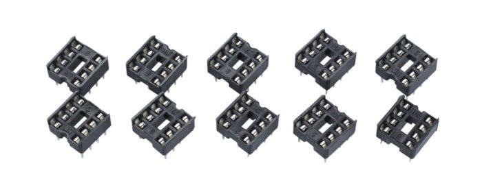 Luxorparts IC-hållare 8-pin 10-pack