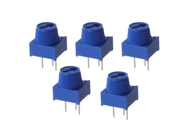 Luxorparts Trimpotentiometer med ratt 10 kΩ 5-pack