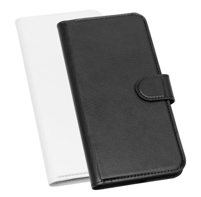 Linocell Tunn mobilplånbok för iPhone 7 och 8 Plus Svart