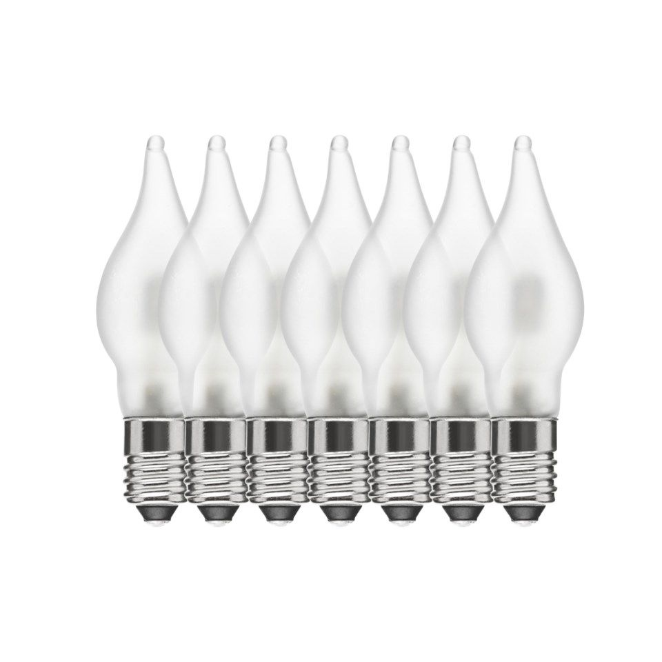 Ledsavers Reservlampa LED E10 10-55 V 7-pack