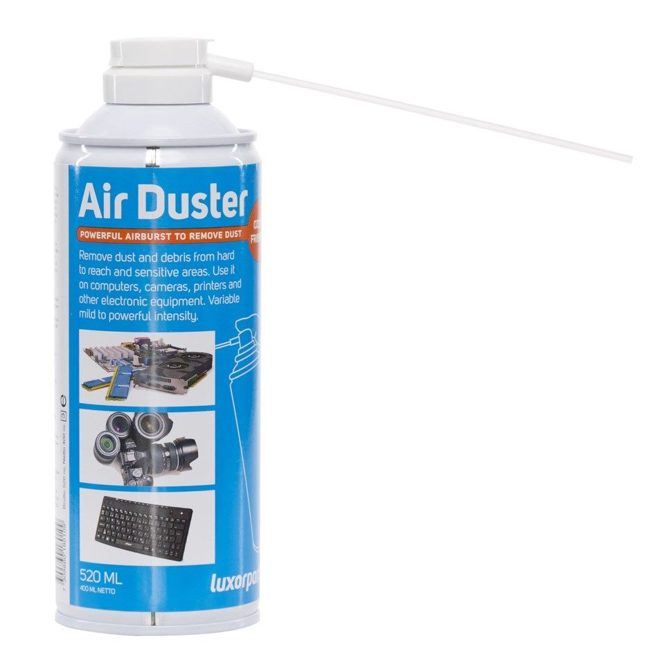 Luxorparts Air duster Tryckluft på burk