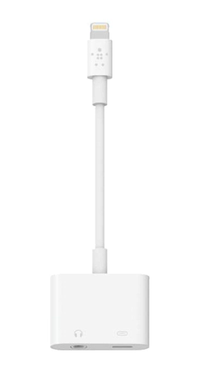 Belkin Lightning Audio + Charge Rockstar Lightning och 3,5 mm-adapter