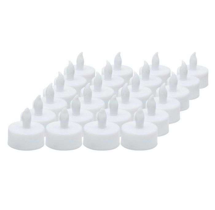 Ledsavers Värmeljus batteridrivna 24-pack