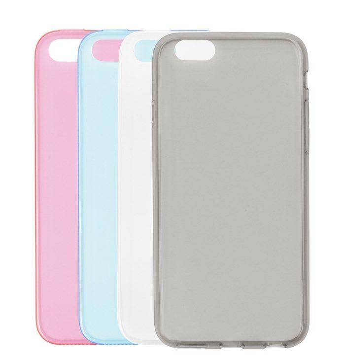 Linocell Second skin Mobilskal för iPhone 5 5s och SE (2016) Grå