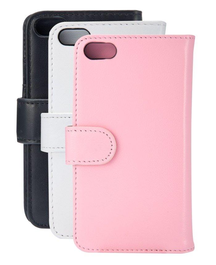 Linocell Mobilplånbok för iPhone 5 5s och SE (2016) Svart