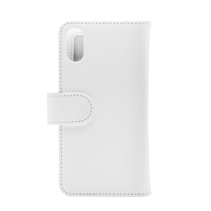 Linocell Stor mobilplånbok för iPhone X och Xs Svart