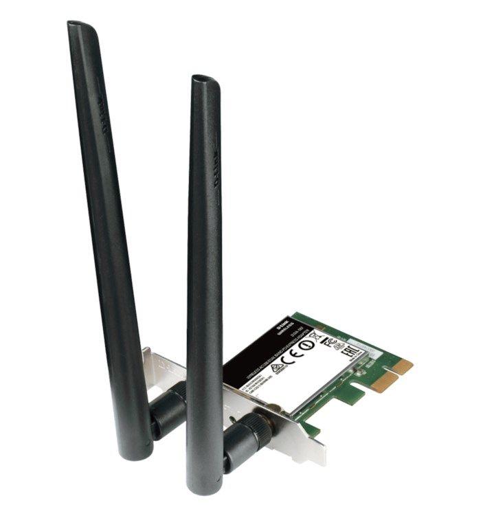 D-link DWA-582 PCI-express-nätverkskort 867 Mb/s