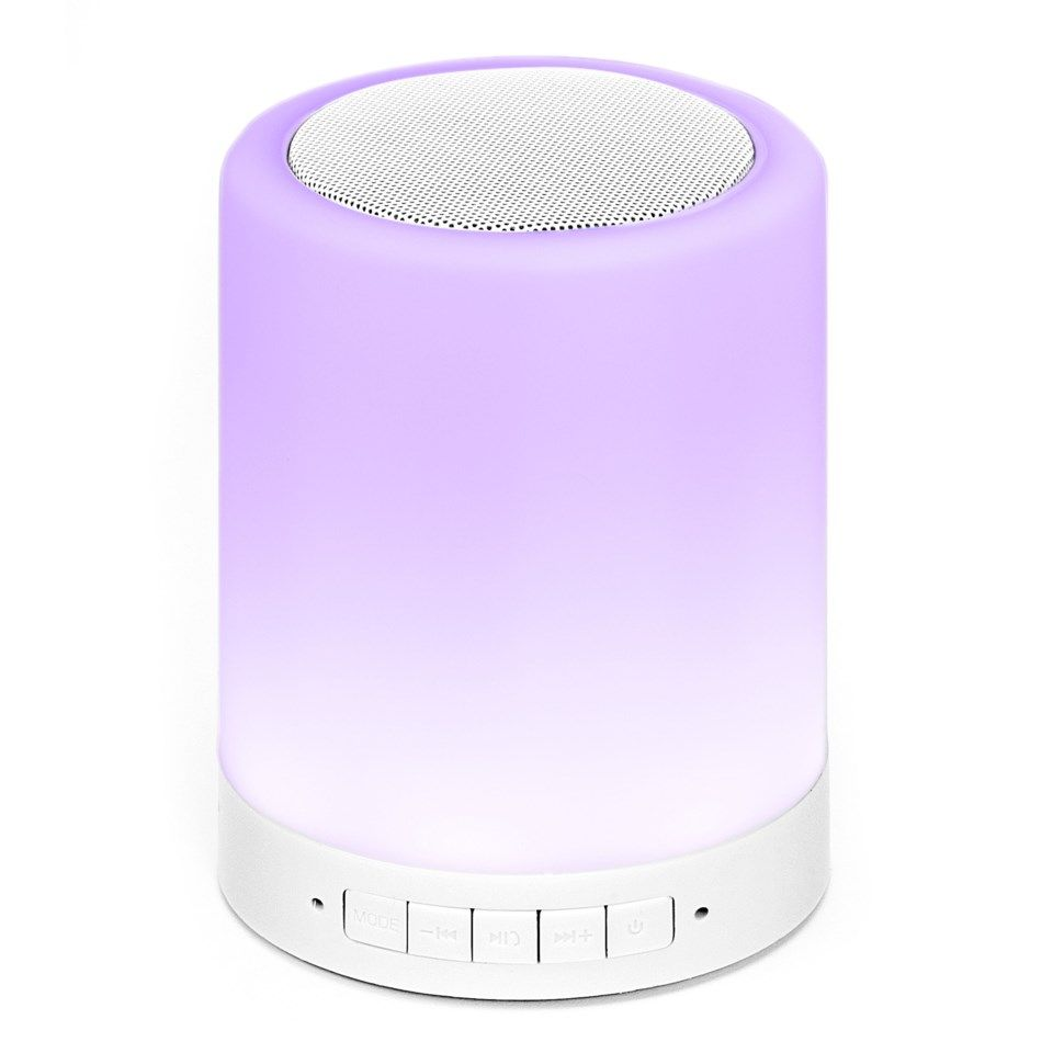 Roxcore Mood Bluetooth-høyttaler med LED-belysning