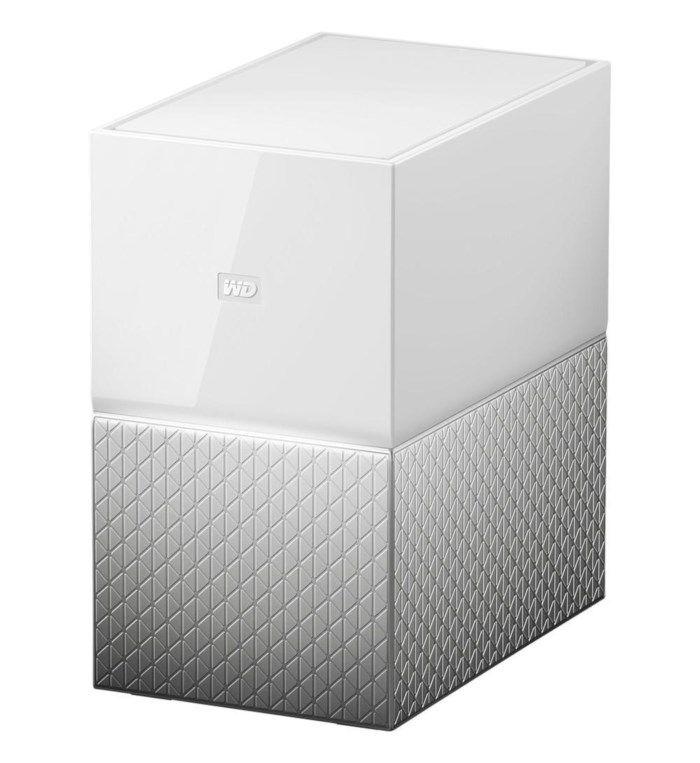 WD My Cloud Home Duo Nas med inbyggda hårddiskar 8 TB