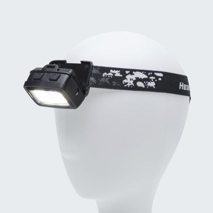 Ledsavers Pannlampa med nacklampa 2x 3 W