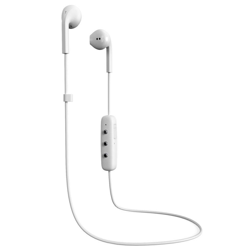 Happy Plugs Earbud Plus Bluetooth-headset Vit