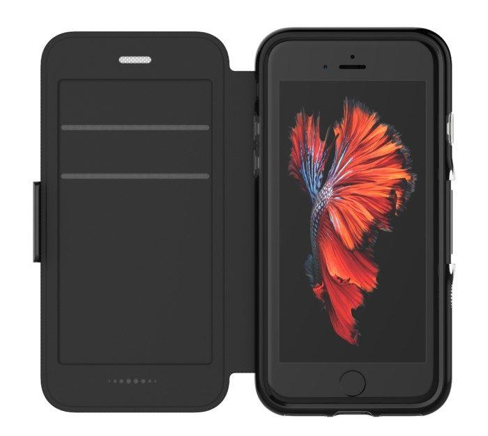 Gear4 Oxford Tålig mobilplånbok för iPhone 7, 8 och SE