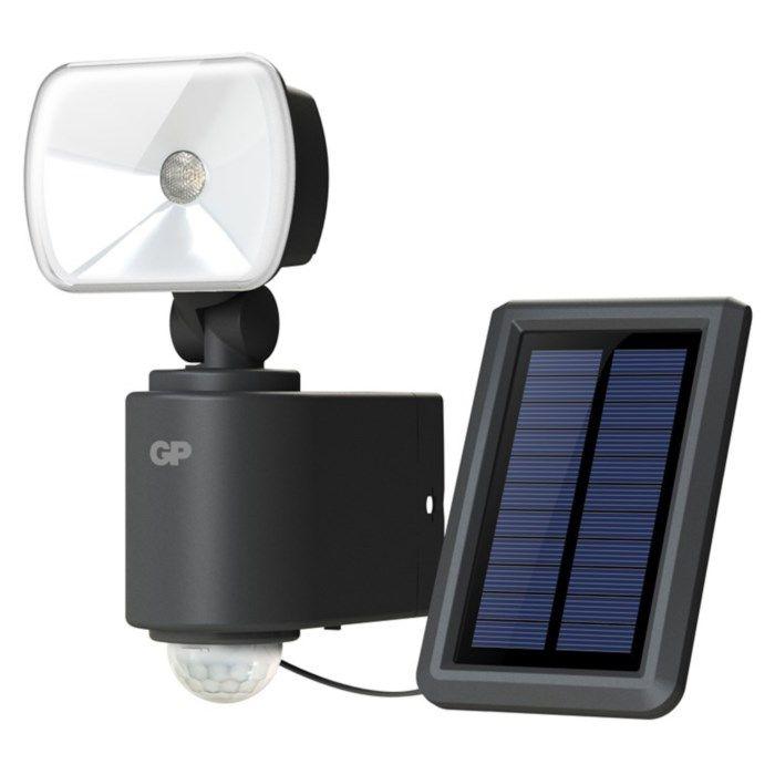 GP Safeguard RF 3.1H Solcellsdriven LED-strålkastare 130 lm