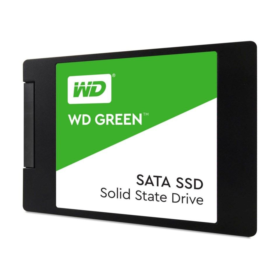 WD Green SSD-disk 120 GB