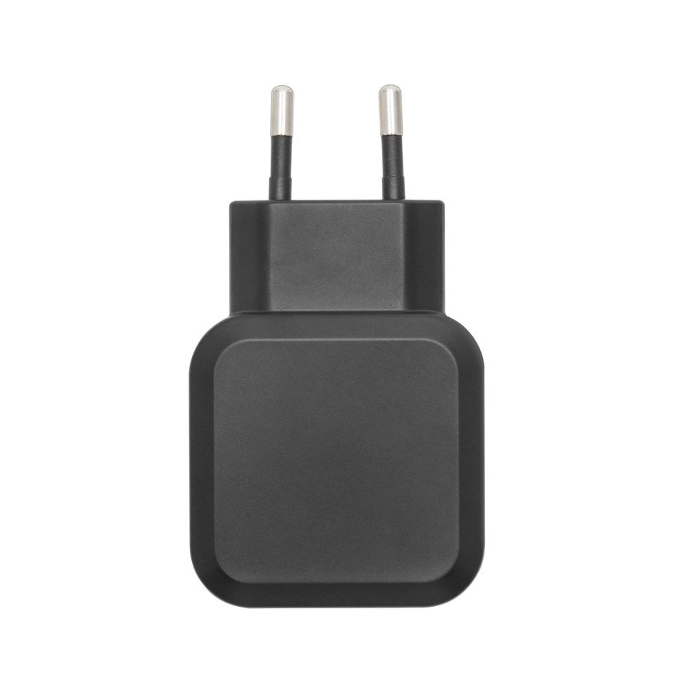 Linocell USB C laddare med USB C kabel 3 A Svart