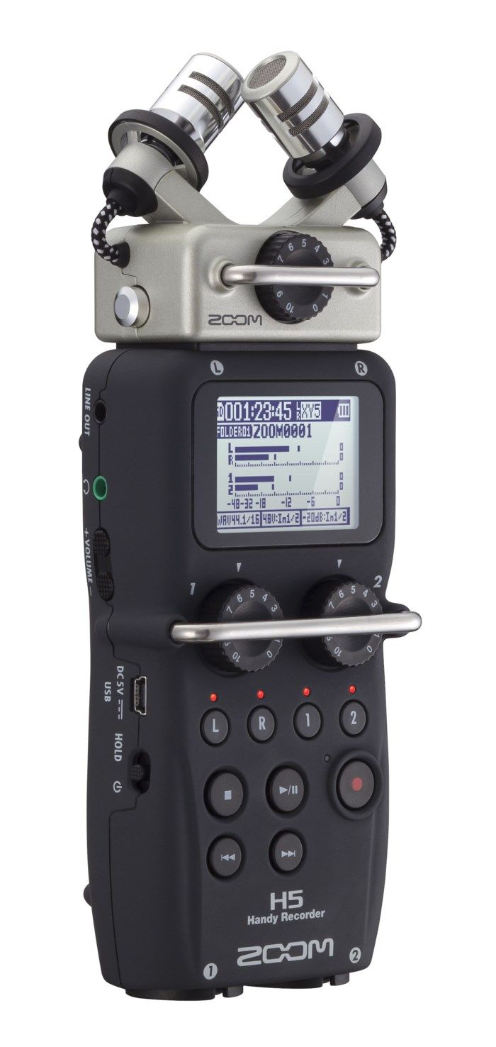 Zoom H5 Ljudinspelare