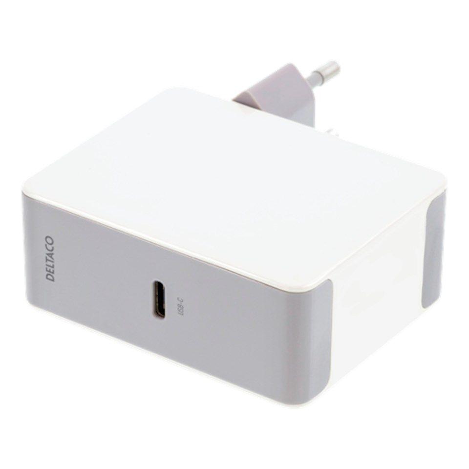 USB C PD laddare Vit