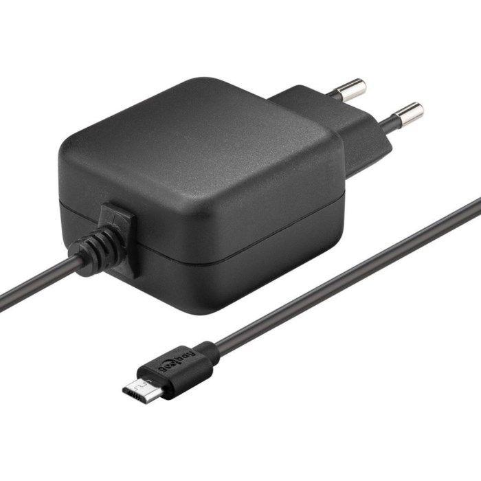 Nätadapter för Raspberry Pi 2,5 A utan strömbrytare