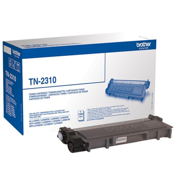 Brother Toner TN-2310 Svart