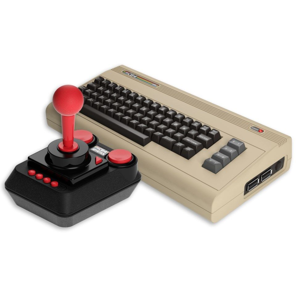 The C64 Mini Konsoll for Commodore 64-spill