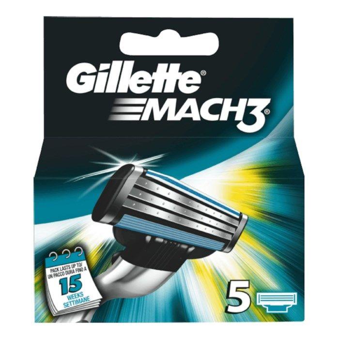 Gillette Mach3 Rakblad 5-pack