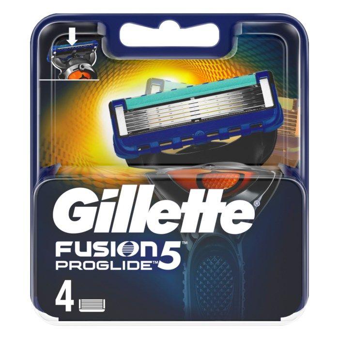 Gillette Fusion Proglide Rakblad 4-pack