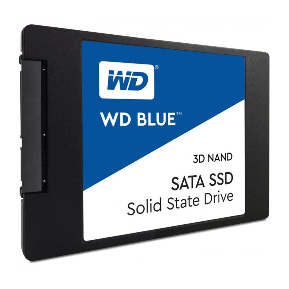 WD Blue 3D-Nand SSD-disk 250 GB